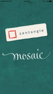 Zentangle Mosaic Startup Screen