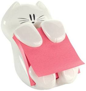 Post-its Cat Dispenser
